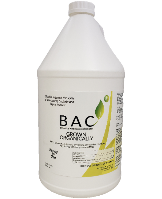 PreVasive Botanical Antimicrobial Cleaner (BAC) - Gallon