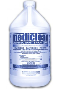 Mediclean Disinfectant Spray Frag. Free - Gallon