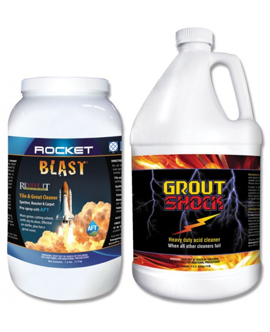 Rocket Blast & Grout Shock Deal