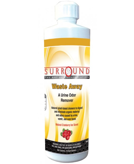 Surround Waste Away Urine Odor Remover – Case – 24 16 oz. Bottles