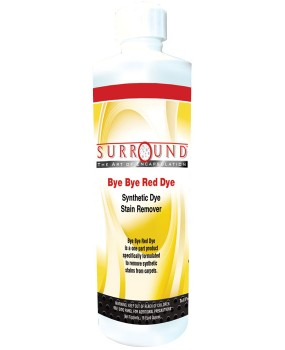 Surround Bye Bye Red Dye Spotter – Case – 24 16 oz. Bottles