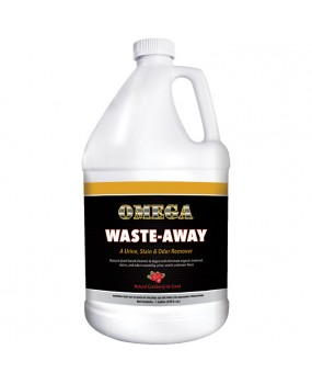 Omega Waste-Away Urine, Stain & Odor Remover – Gallon